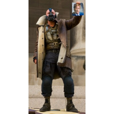Bane The Dark Knight Rises Tom Hardy's Leather Coat
