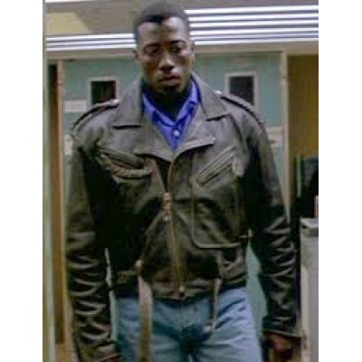 Brown Passenger 57 Leather Jacket