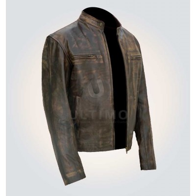 Chris Farraday Contraband Leather Jacket