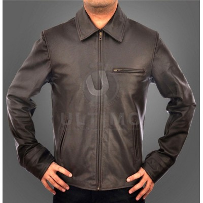 Inception Cobb Leonardo DiCaprio Faux Leather Jacket