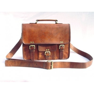 Leather Messenger Small Bag