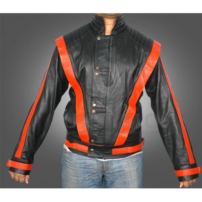 Michael Jackson Thriller Black Faux Leather Jacket