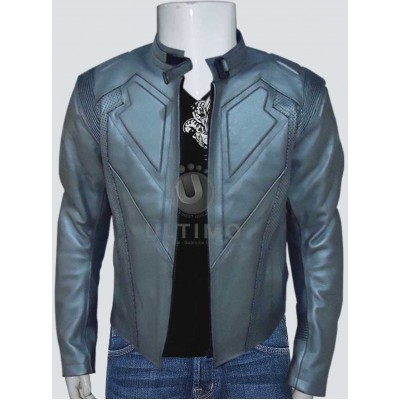 Oblivion Jack harper White Leather Jacket